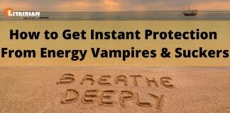 How to Get Instant Protection from Energy Vampires Suckers