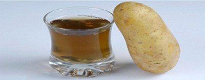 Benefits Potato Juice