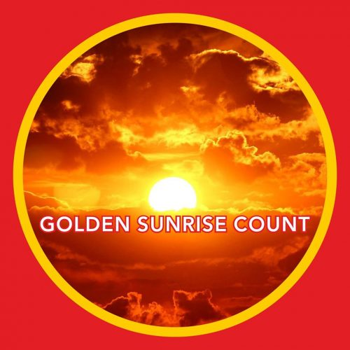 golden sunrise count