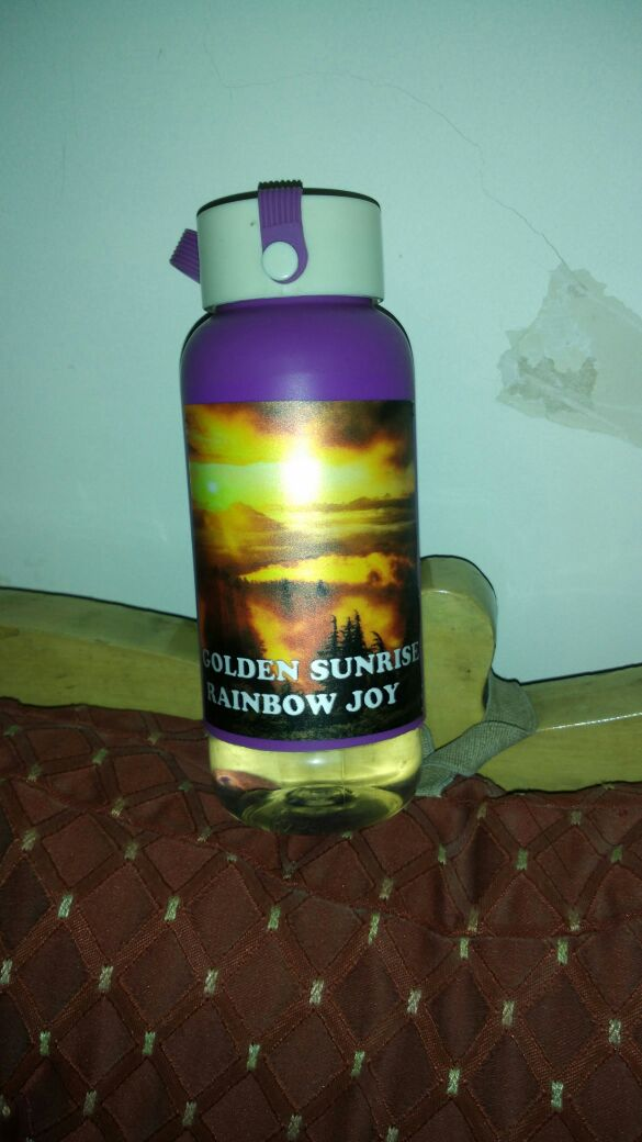 GS Water Bottle by Sujata Shah