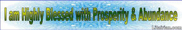 Abundance Prosperity Affirmations