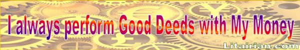 good deeds Money Affirmations