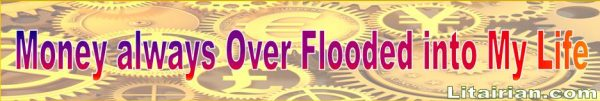 over flooded Money Affirmations