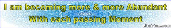 becoming Abundant
