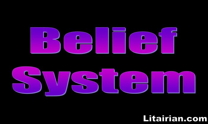 Belief System Attracts What You Have In Your Life