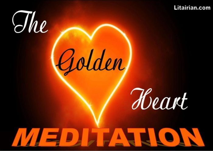 HE GOLDEN HEART BLESSING MEDITATION WITH VIBBES KADA