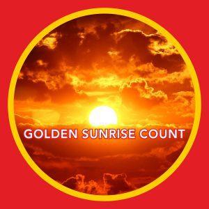 Golden Sunrise Count