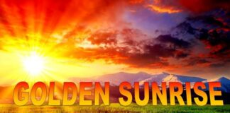 Place a GOLDEN SUNRISE Image in Your Premises & Witness the Magic