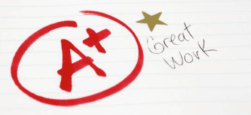 A Grade Student