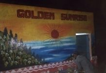 Gooden Sunrise Image on PRAYAS Wall