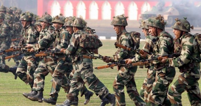Indian army courage