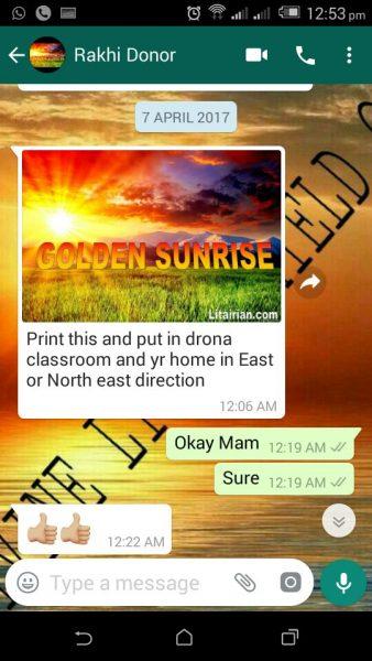 Golden Sunrise Image