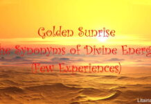Golden Sunrise Synonyms Divine Energy Experiences
